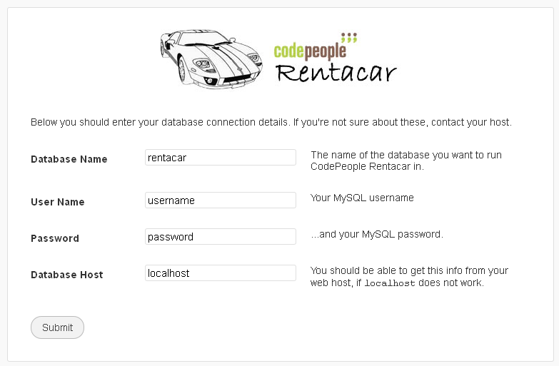 car rental software installation 02